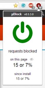 ublock- polskie filtry reklam